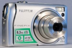 Fujifilm FinePix F40FD Manual - camera front face