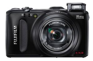 Fujifilm FinePix F600EXR Manual - camera front face