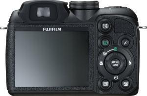 Fujifilm FinePix S1000FD Manual - camera back side