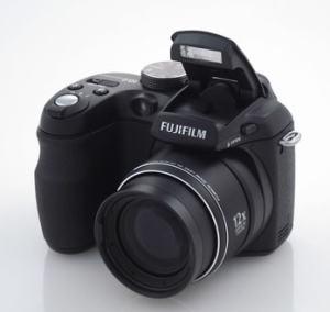Fujifilm FinePix S1000FD Manual - camera front face