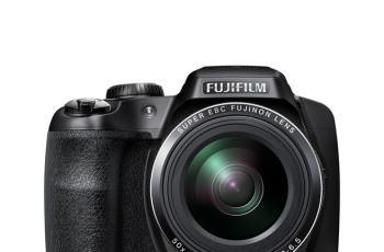 Fujifilm FinePix S9200 Manual camera front side