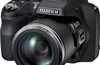Fujifilm FinePix SL1000 Manual - camera front face