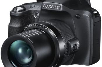 Fujifilm FinePix SL300 Manual for Fuji Solid DSLR-Like Camera