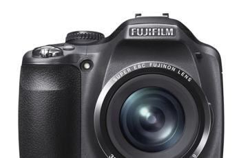 Fujifilm SL240 Manual - camera front face