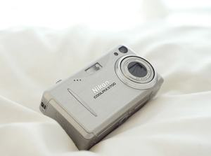 Nikon CoolPix 3700 Manual-camera front side