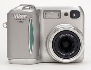 Nikon CoolPix 4300 Manual User Guide and Camera Specification