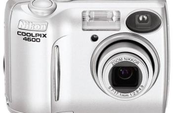 Nikon CoolPix 4600 Manual User Guide and Detail Specification