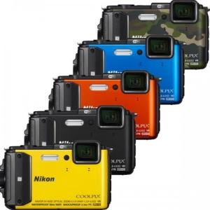 Nikon CoolPix AW130 Manual-camera variants