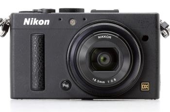 Nikon Coolpix A Manual - camera front face