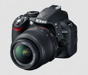 Nikon D3100 Manual - camera front face