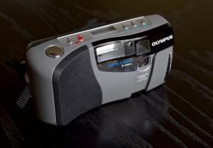 OLYMPUS D-200L Manual camera side