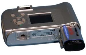 Olympus C-1 Manual - camera side