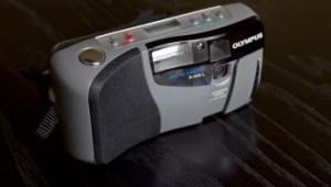 Olympus D-320 L Manual - camera front face