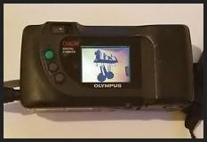 Olympus D-340R Manual - camera back side