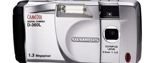 Olympus D-360L Manual User Guide and Product Specification