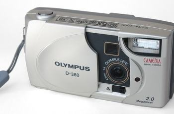 Olympus D-380 Manual User Guide and Product Specification
