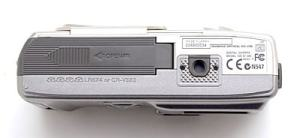 Olympus D-380 Manual - camera side