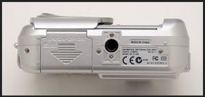 Olympus D-390 Manual - camera side