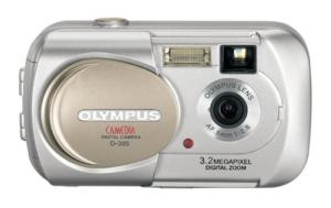 Olympus D-395 Manual User Guide and Product Specification