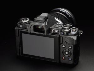 Olympus E-M5 Mark II Manual - camera back side