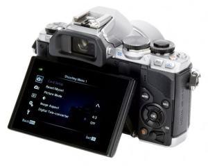 Olympus OM-D E-M10 Manual - camera back side