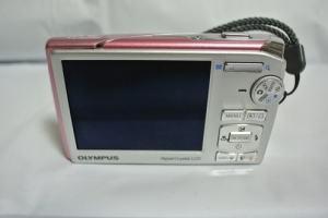Olympus Stylus 1020 Manual - camera back side