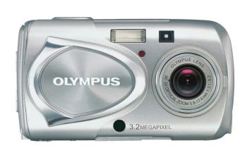 Olympus Stylus 300 Manual - camera front face