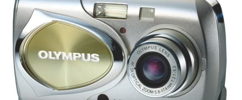 Olympus Stylus 400 Manual - camera front side