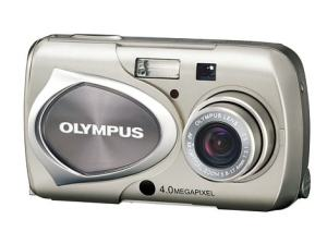 Olympus Stylus 410 Manual - camera front face