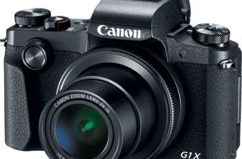 Canon PowerShot G1 X Mark III Digital Camera; camera front side