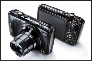 Fujifilm FinePix F305EXR Manual - camera side