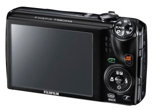 Fujifilm FinePix F665EXR Manual - camera rear side