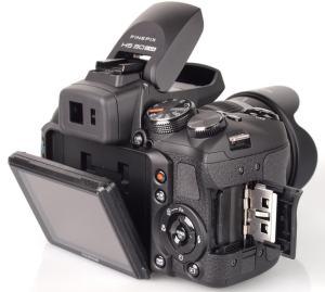 Fujifilm FinePix HS30 Manual - camera rear side