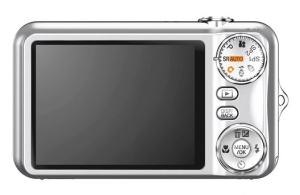 Fujifilm FinePix JX205 Manual - camera back side