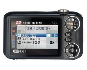 Fujifilm FinePix JX300 Manual - camera rear side