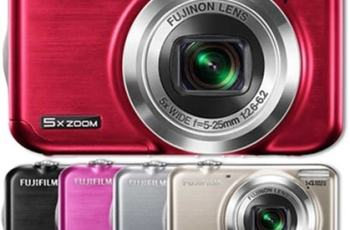 Fujifilm FinePix JX300 Manual - camera variants