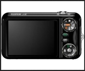 Fujifilm FinePix JZ305 Manual - camera rear side
