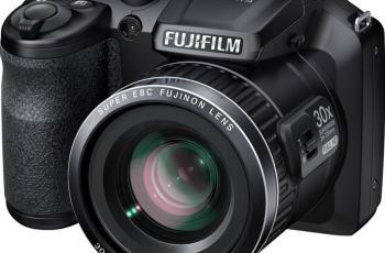 Fujifilm FinePix S6800 Manual - camera front side