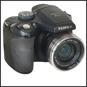 Fujifilm FinePix S800 Manual - camera front face