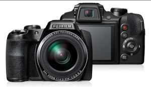 Fujifilm FinePix S9800 Manual - camera front and back side