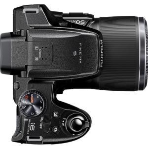 Fujifilm FinePix S9800 Manual - camera top side