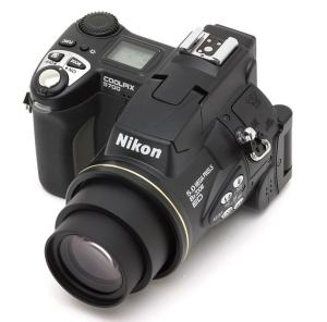 Nikon CoolPix 5700 Manual - camera top side