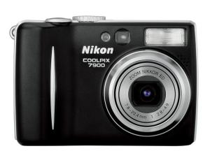 Nikon CoolPix 7900 Manual - camera front side