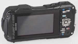 Pentax WG-30 Manual - camera back side