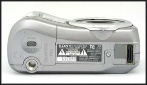 Sony DSC-S60 Manual - camera side