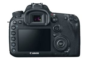 Canon EOS 7D Mark II Manual - camera rear side