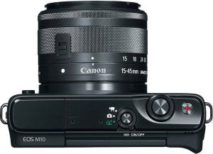 Canon EOS M10 Review - camera side