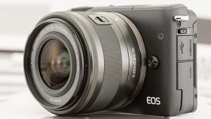Canon EOS M10 Review - front face of the camera