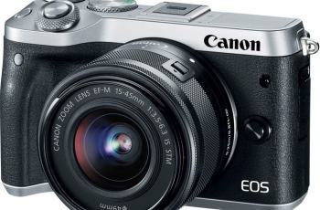 Canon EOS M6 - Camera Front Face