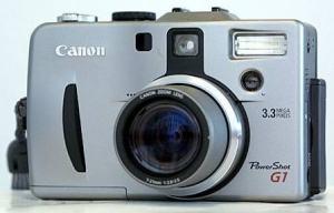Canon PowerShot G1 Manual